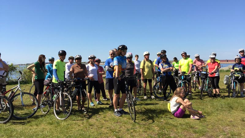 Fairhaven Bikeway Committee Group Ride 2016